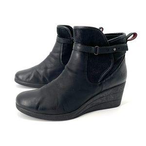 Ugg Emalie waterproof  black wedge bootie 9